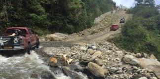 Pembangunan Jalan di Kawasan Pegunungan Arfak