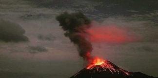 Erupsi Gunung Anak Krakatau Bersamaan dengan Lima Gunung Lainnya