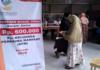 Warga Surabaya Terima BLT Sebesar Rp 600 Ribu
