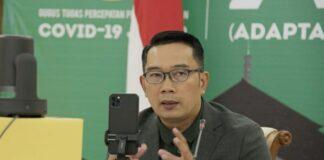 Ridwan Kamil Menjadi Relawan Uji Klinis Vaksin Covid-19