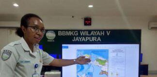 Ezri Ronsumbre, Perempuan Ahli Cuaca BMKG Asal Papua